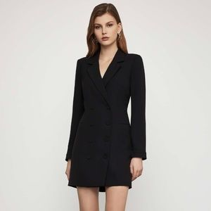 NWT BCBG Double Breasted Blazer Dress XS